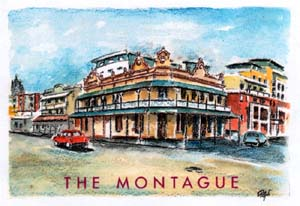 The Montague, built in 1889, refurbishment completed August 2000. Property Search offices on the first floor.